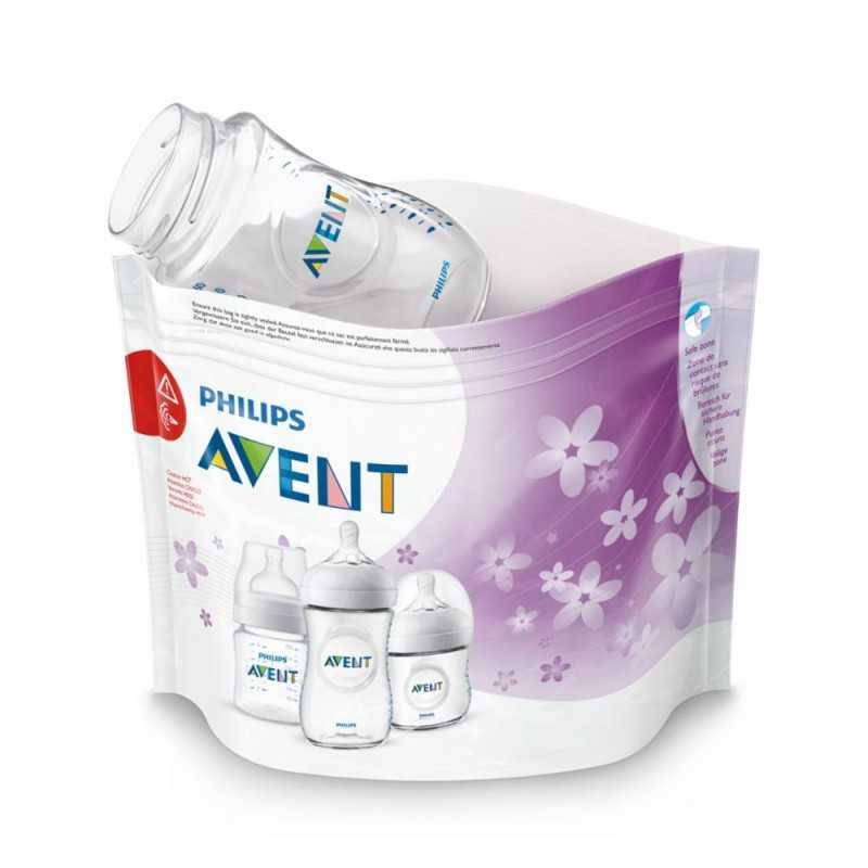 Avent Mikrohöyrysterilointipussit Avent - 1