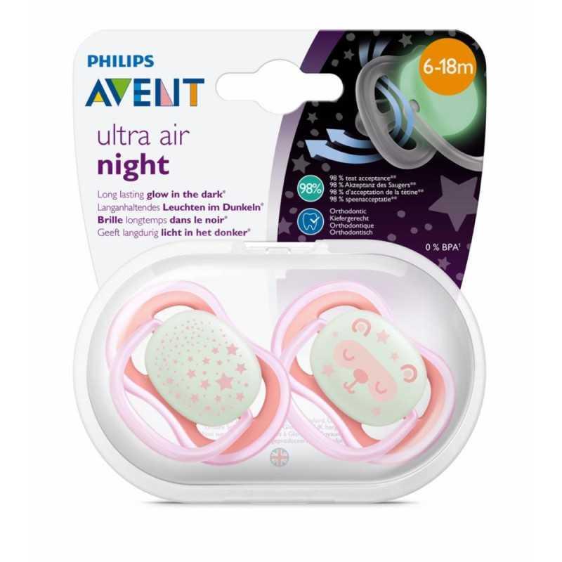 Avent huvitutti Night 6-18kk pinkki Avent - 1