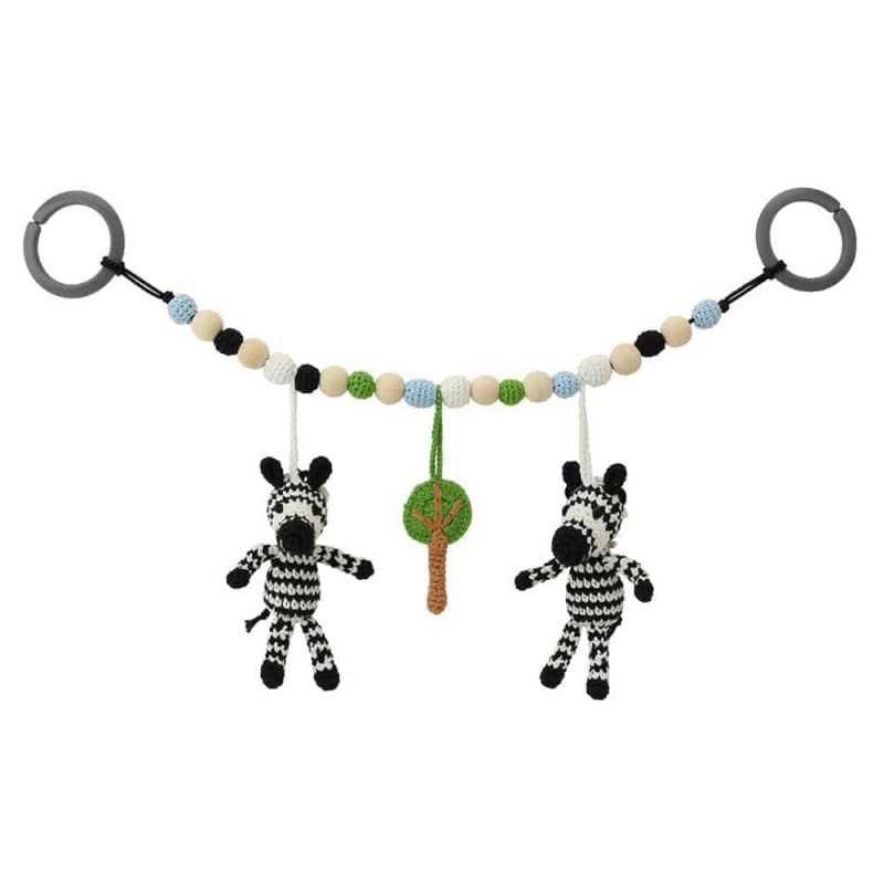 Sindibaba Virkattu Vaunulelu, Zebra Sindibaba - 1