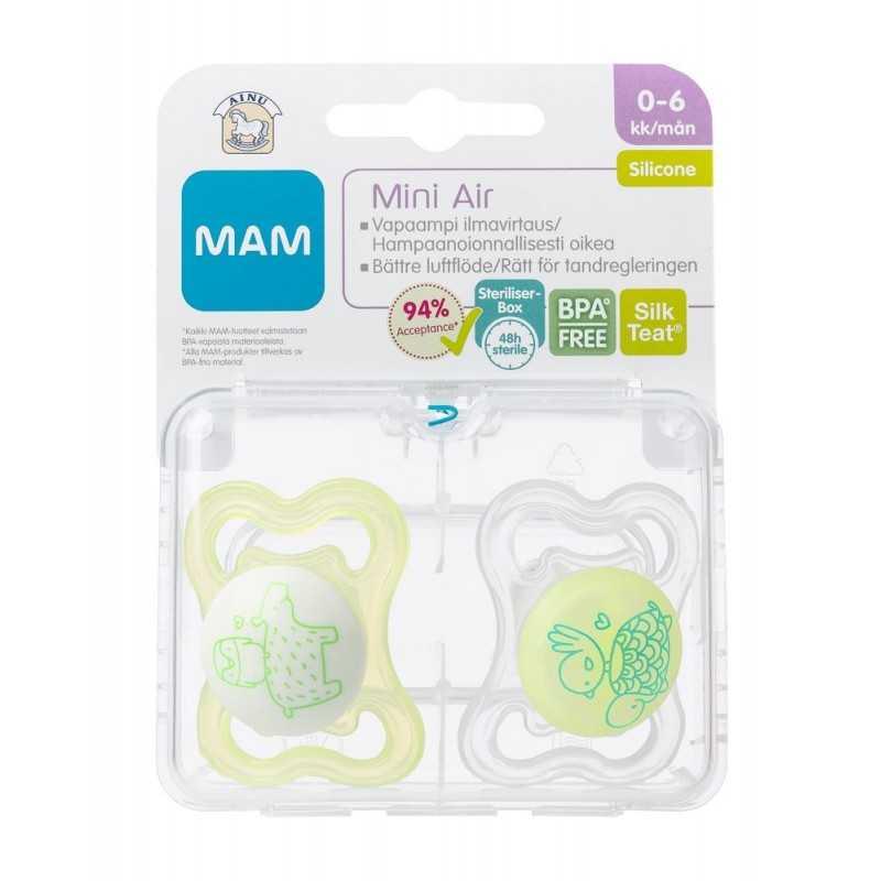Ainu Mam Mini Air Tutti 0-6kk silikoni Ainu - 1