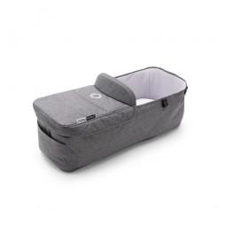 Bugaboo Donkey3 Carrycot Fabric, Grey Melange Bugaboo - 1