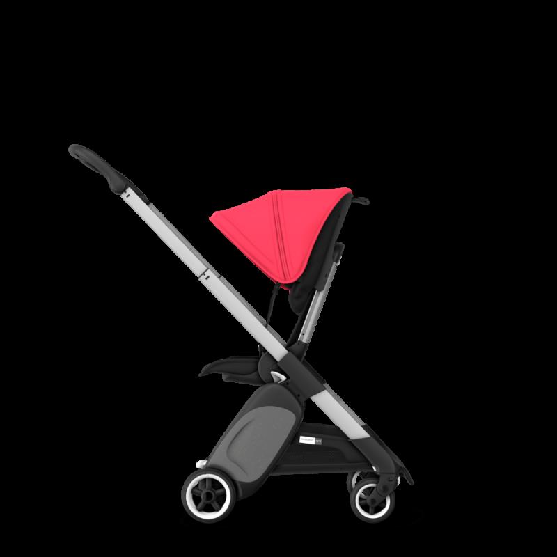 Paketti Bugaboo Ant, Alu runko - Black/Neon Red Bugaboo - 1