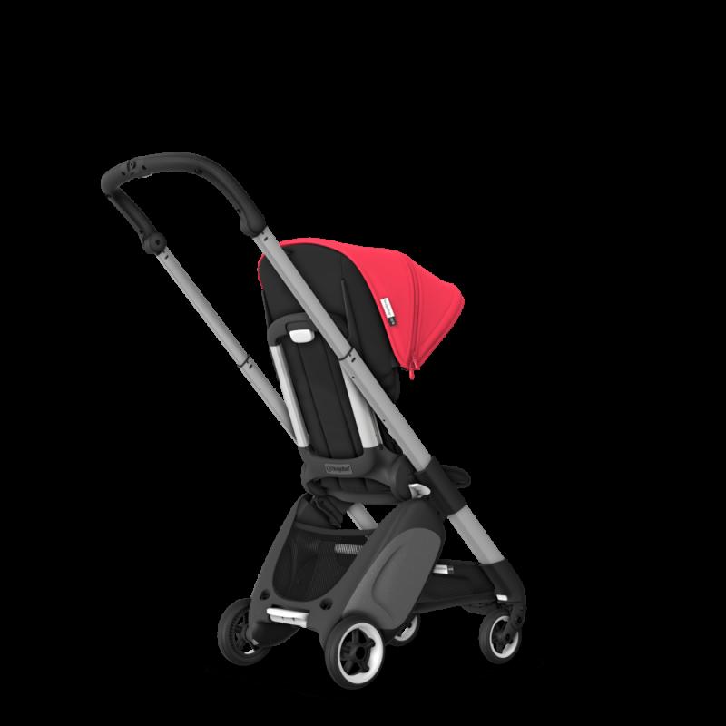 Paketti Bugaboo Ant, Alu runko - Black/Neon Red Bugaboo - 2
