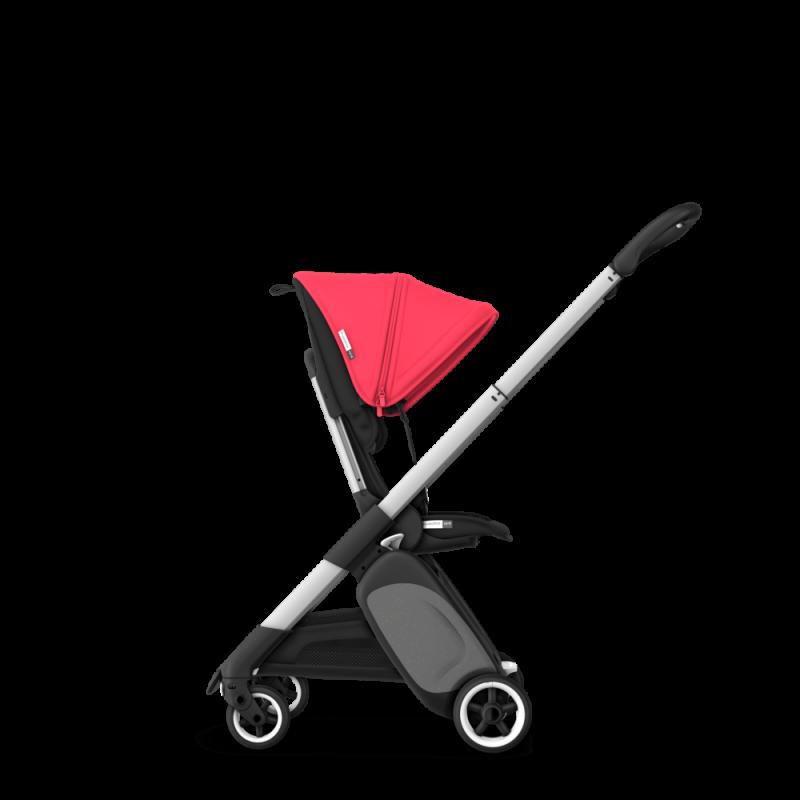 Paketti Bugaboo Ant, Alu runko - Black/Neon Red Bugaboo - 5