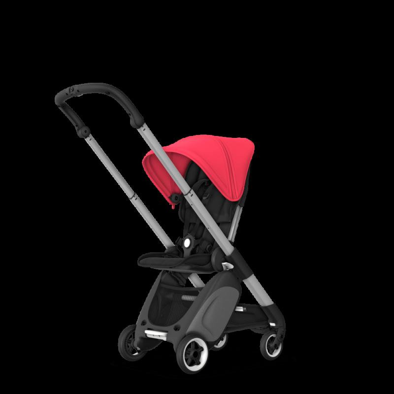 Paketti Bugaboo Ant, Alu runko - Black/Neon Red Bugaboo - 6