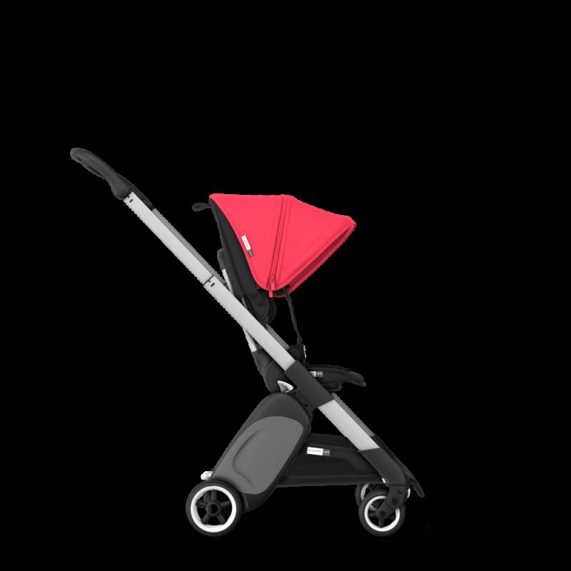 Paketti Bugaboo Ant, Alu runko - Black/Neon Red Bugaboo - 8