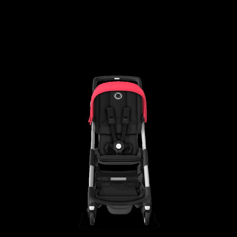 Paketti Bugaboo Ant, Alu runko - Black/Neon Red Bugaboo - 10