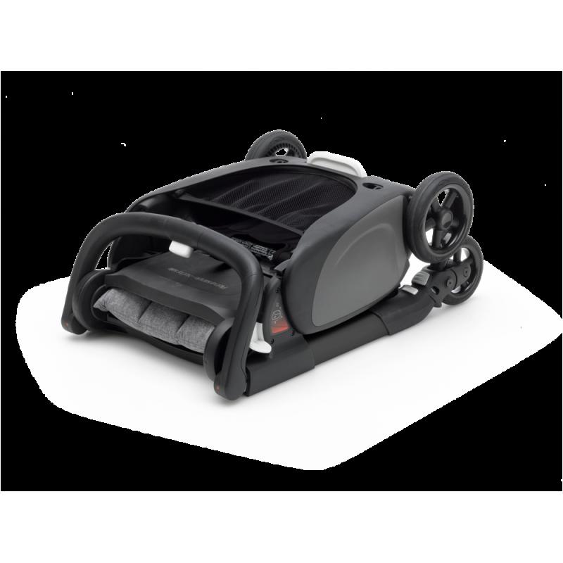 Paketti Bugaboo Ant, Black runko - Grey Melange/Grey Melange Bugaboo - 7