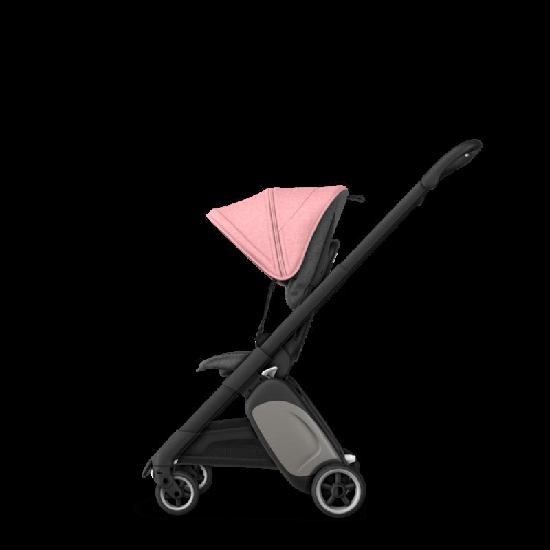 Paketti Bugaboo Ant, Black runko - Grey Melange/Pink Melange Bugaboo - 5