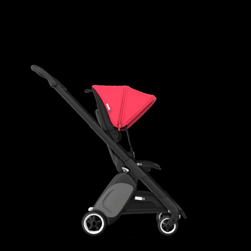 Paketti Bugaboo Ant, Black runko - Black/Neon Red Bugaboo - 1