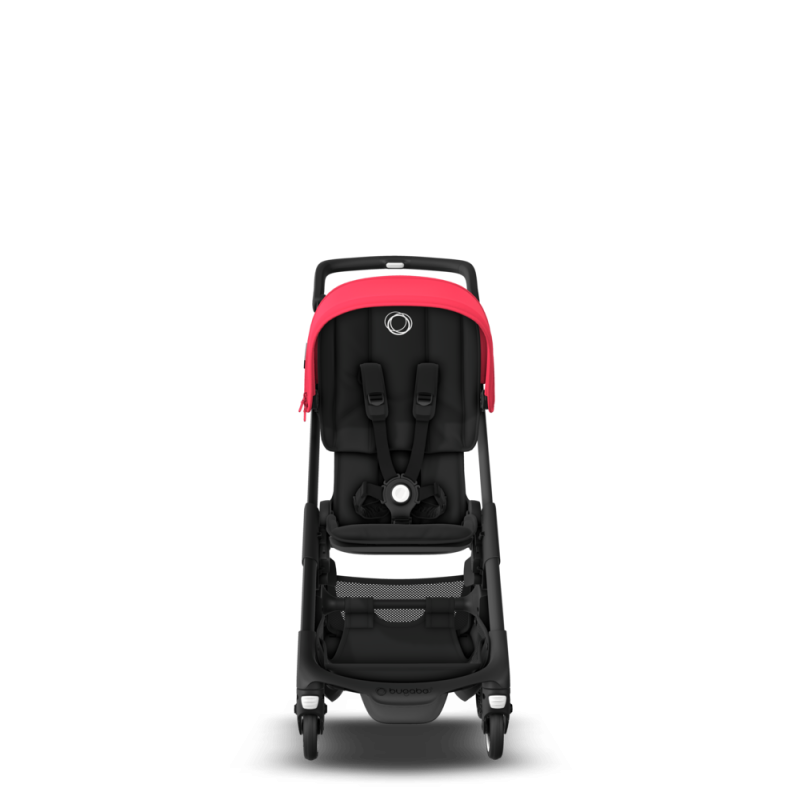 Paketti Bugaboo Ant, Black runko - Black/Neon Red Bugaboo - 4