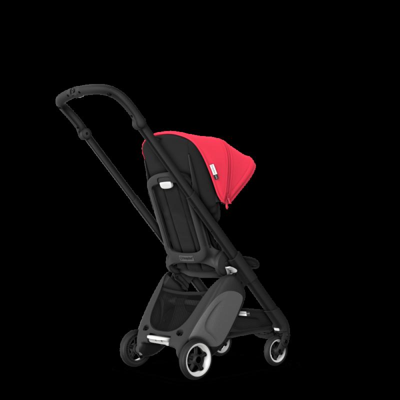 Paketti Bugaboo Ant, Black runko - Black/Neon Red Bugaboo - 6