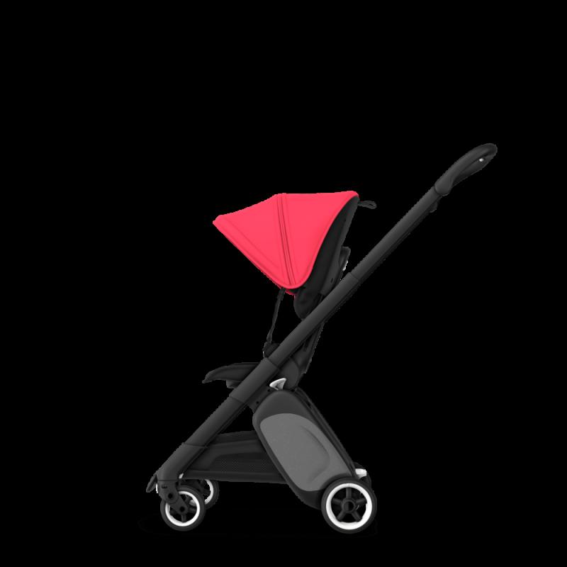 Paketti Bugaboo Ant, Black runko - Black/Neon Red Bugaboo - 7