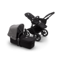 Paketti Bugaboo Donkey3 Mono yhdistelmävaunu Black - Grey Melange/ Black runko Bugaboo - 1