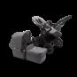 Paketti Bugaboo Donkey3 Mono yhdistelmävaunu Grey Melange - Grey Melange/ Black runko Bugaboo - 1