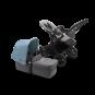 Paketti Bugaboo Donkey3 Mono yhdistelmävaunu Grey Melange - Vapor Blue/ Black runko Bugaboo - 1
