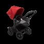 Paketti Bugaboo Donkey3 Mono yhdistelmävaunu Grey Melange - Red/ Black runko Bugaboo - 2