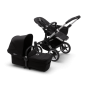 Paketti Bugaboo Donkey3 Mono yhdistelmävaunu Black - Black / Alu runko Bugaboo - 1