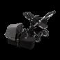 Paketti Bugaboo Donkey3 Mono yhdistelmävaunu Black - Grey Melange / Alu runko Bugaboo - 1
