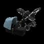 Paketti Bugaboo Donkey3 Mono yhdistelmävaunu Black - Vapor Blue / Alu runko Bugaboo - 1