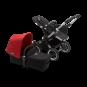 Paketti Bugaboo Donkey3 Mono yhdistelmävaunu Black - Red / Alu runko Bugaboo - 1