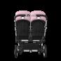 Paketti Bugaboo Donkey3 Twin kaksostenvaunu Black - Soft Pink / Alu runko Bugaboo - 3