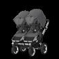 Paketti Bugaboo Donkey3 Twin kaksostenvaunu Grey Melange - Grey Melange / Alu runko Bugaboo - 5