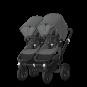 Paketti Bugaboo Donkey3 Twin kaksostenvaunu Grey Melange - Grey Melange / Black runko Bugaboo - 2
