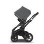 Paketti Bugaboo Donkey3 Twin kaksostenvaunu Grey Melange - Grey Melange / Black runko Bugaboo - 3