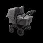 Paketti Bugaboo Donkey3 Twin kaksostenvaunu Grey Melange - Grey Melange / Black runko Bugaboo - 4