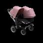 Paketti Bugaboo Donkey3 Duo sisarusrattaat Black - Soft Pink / Alu runko Bugaboo - 1