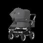 Paketti Bugaboo Donkey3 Duo sisarusrattaat Grey Melange - Grey Melange / Alu runko Bugaboo - 2