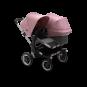 Paketti Bugaboo Donkey3 Duo sisarusrattaat Grey Melange - Soft Pink / Alu runko Bugaboo - 1