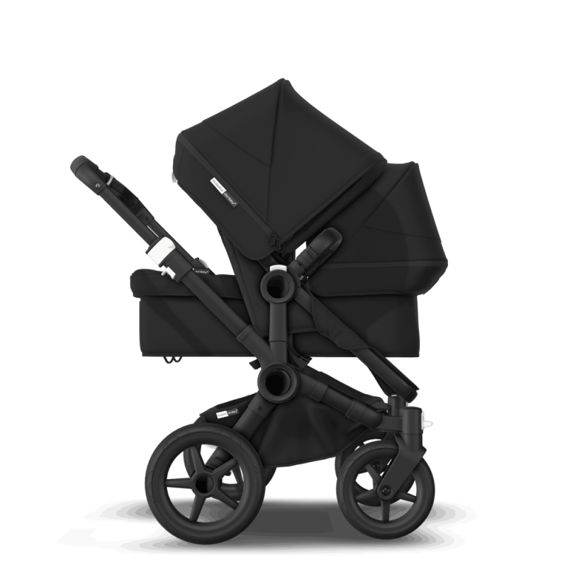 Paketti Bugaboo Donkey3 Duo sisarusrattaat Black - Black / Black runko Bugaboo - 2