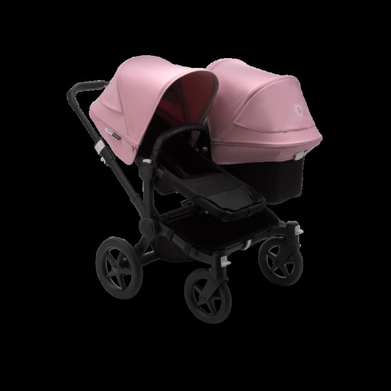 Paketti Bugaboo Donkey3 Duo sisarusrattaat Black - Soft Pink / Black runko Bugaboo - 1