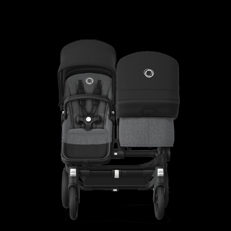 Paketti Bugaboo Donkey3 Duo sisarusrattaat Grey Melange - Black / Black runko Bugaboo - 1