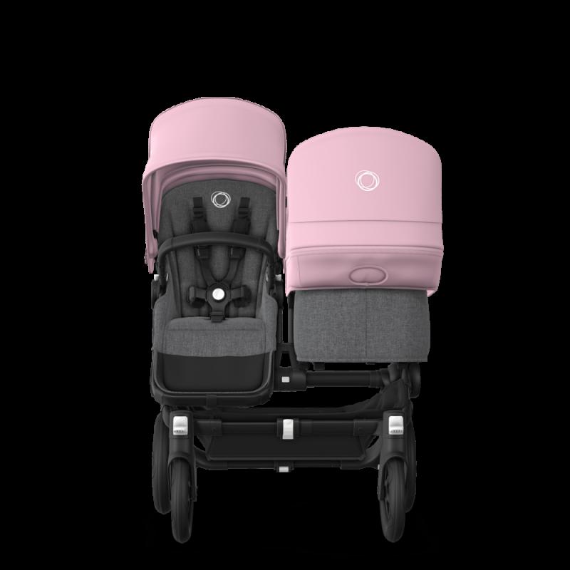 Paketti Bugaboo Donkey3 Duo sisarusrattaat Grey Melange - Soft Pink / Black runko Bugaboo - 2
