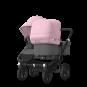 Paketti Bugaboo Donkey3 Duo sisarusrattaat Grey Melange - Soft Pink / Black runko Bugaboo - 3