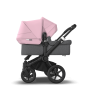 Paketti Bugaboo Donkey3 Duo sisarusrattaat Grey Melange - Soft Pink / Black runko Bugaboo - 5