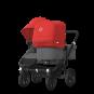 Paketti Bugaboo Donkey3 Duo sisarusrattaat Grey Melange - Red / Black runko Bugaboo - 2