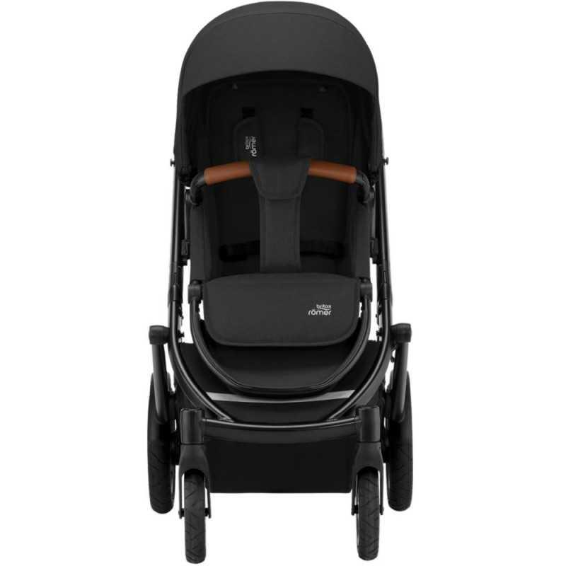 Paketti Britax Smile 3 Yhdistelmävaunu, Space Black + Baby-Safe 2 I-Size, Cosmos Black Britax - 2