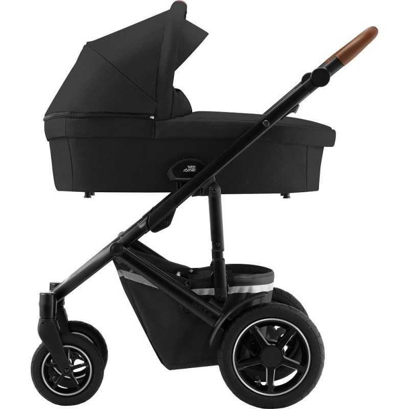 Paketti Britax Smile 3 Yhdistelmävaunu, Space Black + Baby-Safe 2 I-Size, Cosmos Black Britax - 5