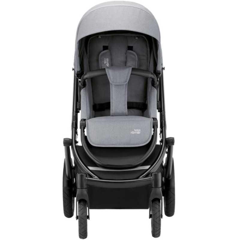 Paketti Britax Smile 3 Yhdistelmävaunu, Frost Grey/Black + Baby-Safe 2 I-Size + Flex jalusta, Cosmos Black Britax - 2