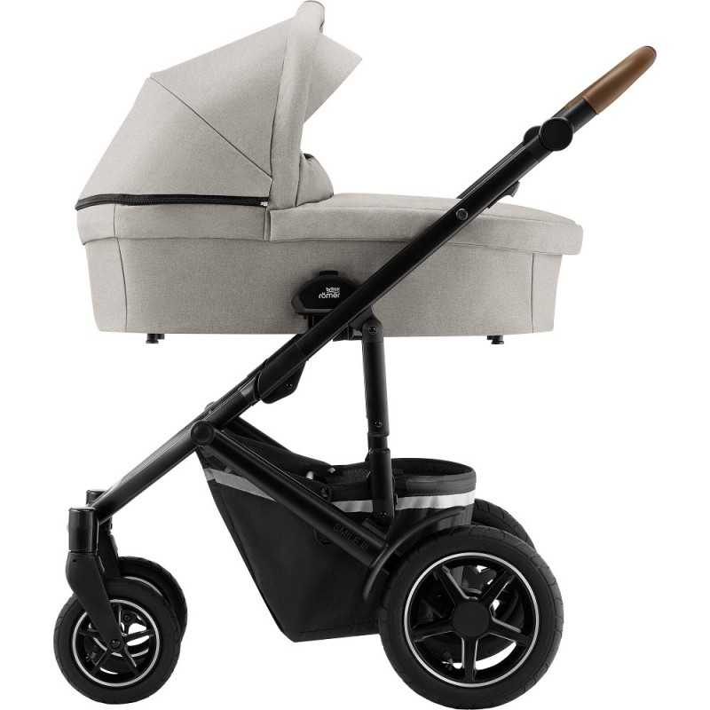 Paketti Britax Smile 3 Yhdistelmävaunu, Pure Beige + Baby-Safe iSENSE + Flex iSENSE jalusta + varustepaketti Britax - 4