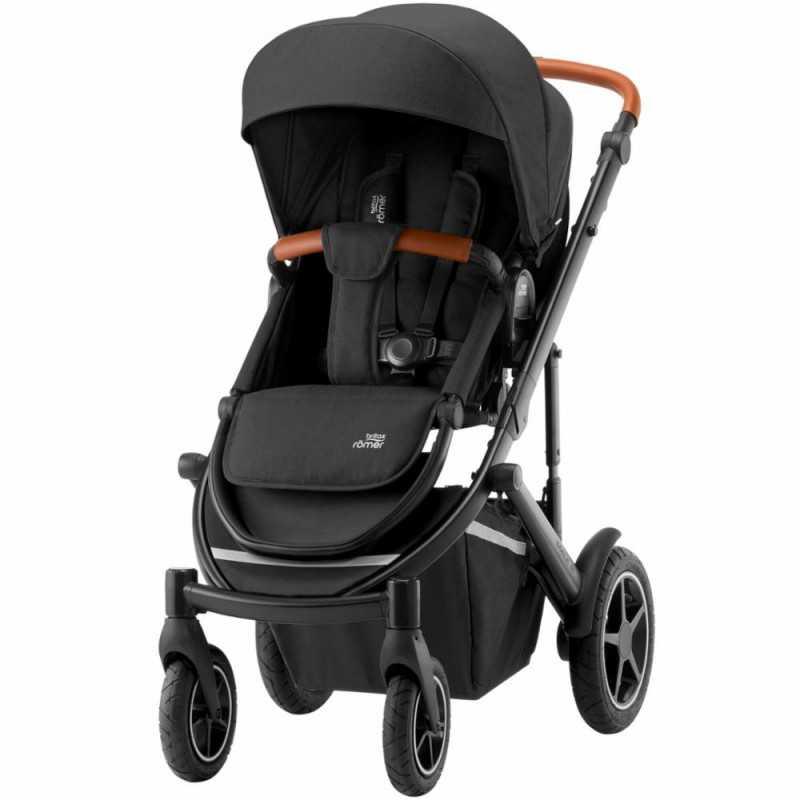 Paketti Britax Smile 3 Yhdistelmävaunu, Space Black + Baby-Safe 2 I-Size + Flex jalusta + varustepaketti Britax - 4
