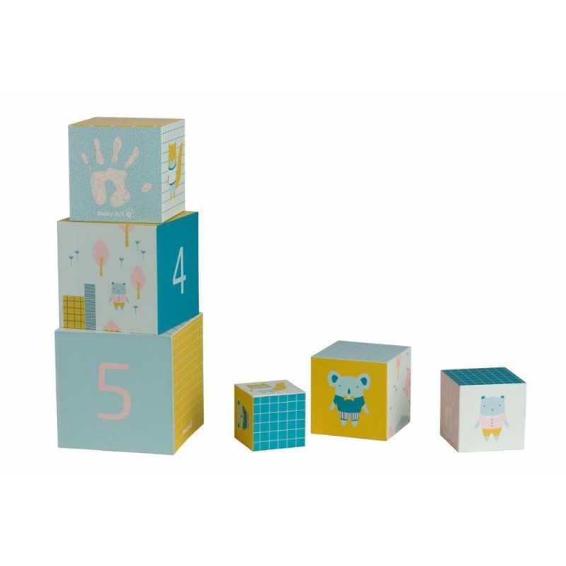 Baby Art Activity Cubes lelukuutiot vauvan kädenjäljillä Baby Art - 1