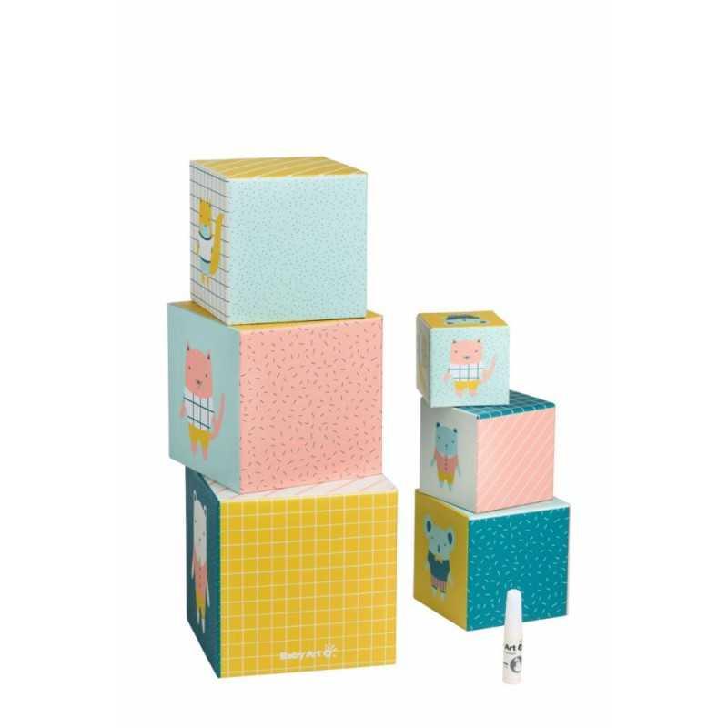 Baby Art Activity Cubes lelukuutiot vauvan kädenjäljillä Baby Art - 2