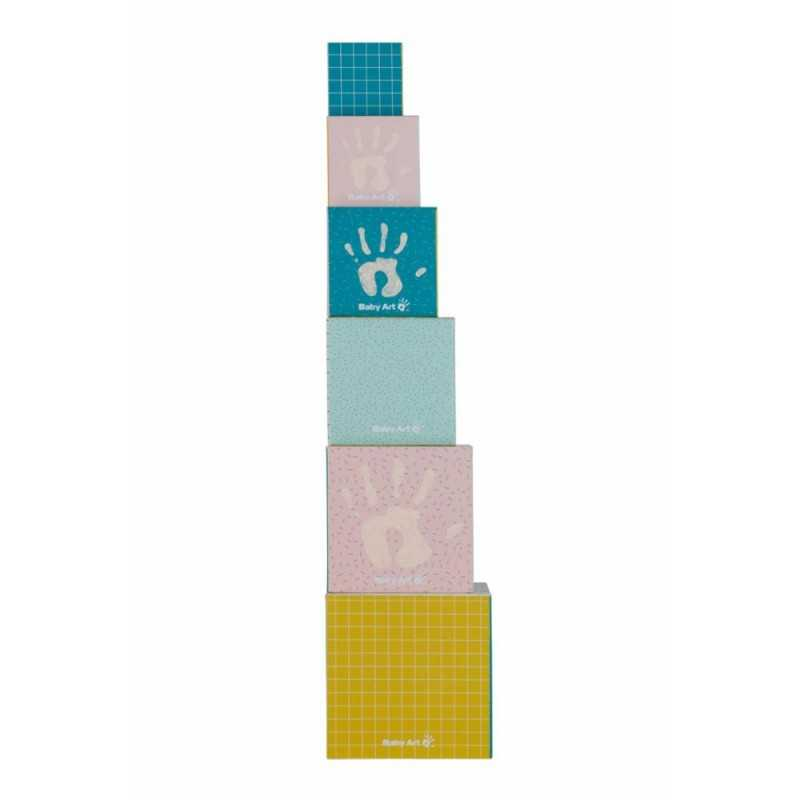 Baby Art Activity Cubes lelukuutiot vauvan kädenjäljillä Baby Art - 3