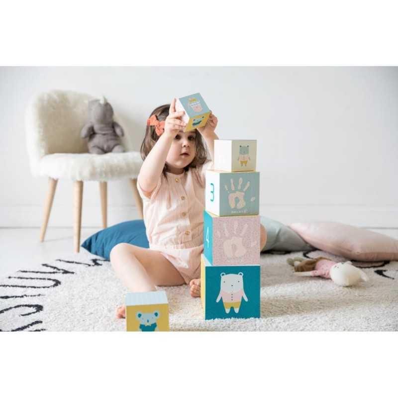 Baby Art Activity Cubes lelukuutiot vauvan kädenjäljillä Baby Art - 7