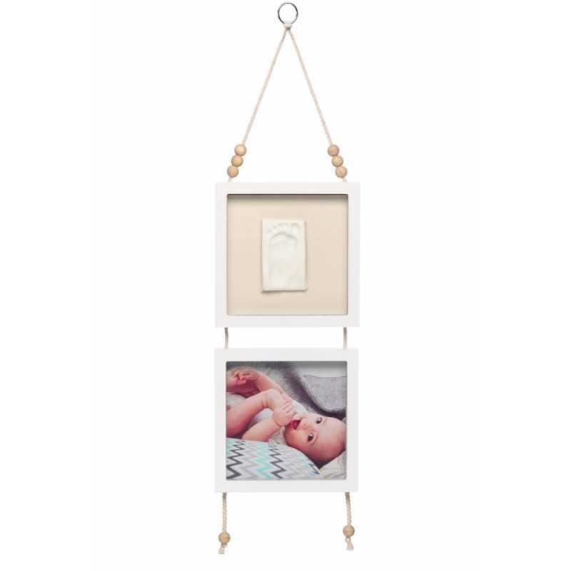 Baby Art Hanging Frame Vauvan jalanjälki & valokuvakehys Baby Art - 1